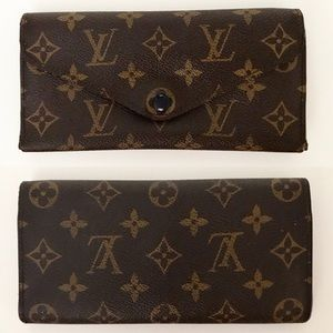 Authentic Louis Vuitton Josephine Monogram Wallet